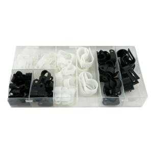 CENTRIX 120 Piece Nylon Cable Clamp Kit