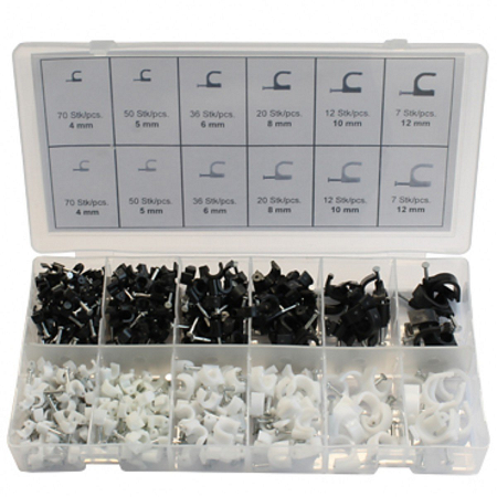 CENTRIX 390 Piece Nail In Cable Clip Kit