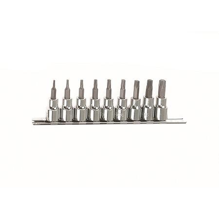 Toolway 10 Piece 3/8″ Dr Torx Bit Socket Set