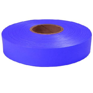 Empire 1″ x 600′ Blue Flagging Tape