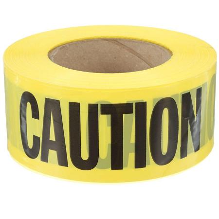 Empire 3″ x 1000′ Heavy Duty Caution Tape