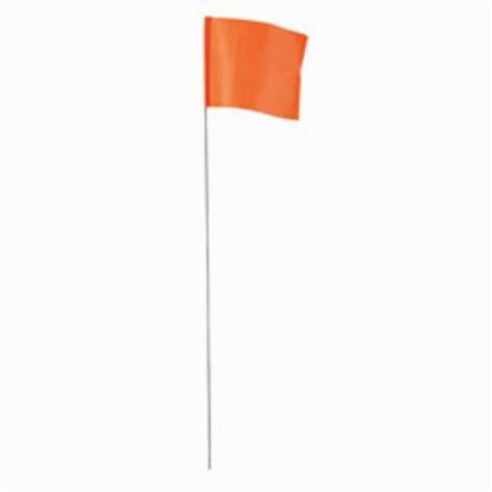 Empire Orange Stake Flags 100 Pack