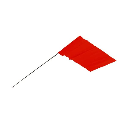 Empire Red Stake Flags 100 Pack