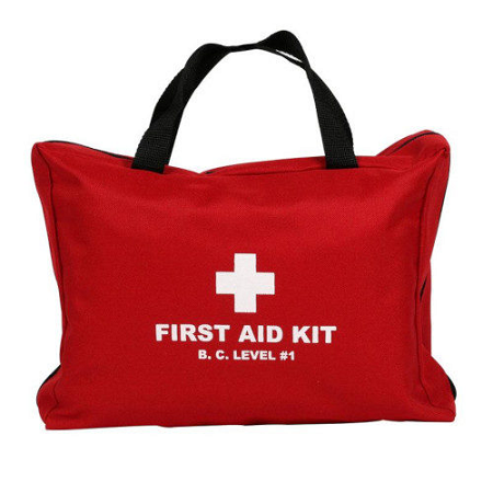 HTT BC Level 1 First Aid Kit With Soft Pack