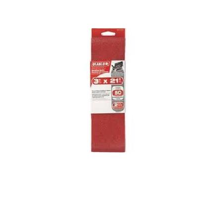 DIABLO 3 x 21″ 50 Grit Sanding Belt