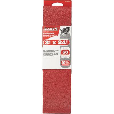 DIABLO 3 x 24″ 50 Grit Sanding Belt
