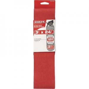 DIABLO 3 x 24″ 120 Grit Sanding Belt