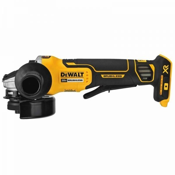 DeWalt 20V XR Brushless 4-1/2″ Angle Grinder – Paddle Switch