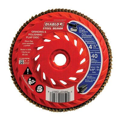 DIABLO 4-1/4″ x 40Grit Speed Hub Flap Disc