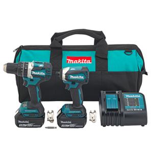 Makita 18V Brushless Drill/Driver and Impact 2 Piece Combo Kit