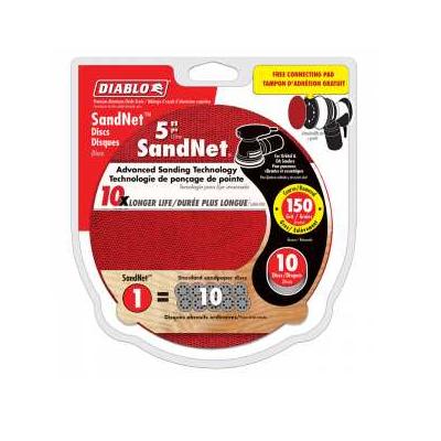 DIABLO 5″ x 150 Grit Sandnet Disc