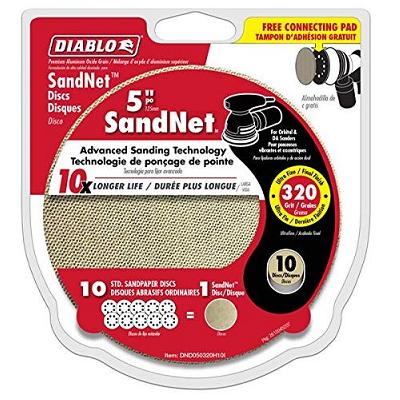 DIABLO 5″ x 320 Grit Sandnet Disc