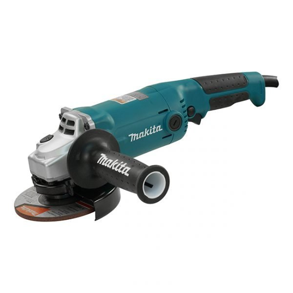 Makita 5″ Angle Grinder with Lock-On Switch