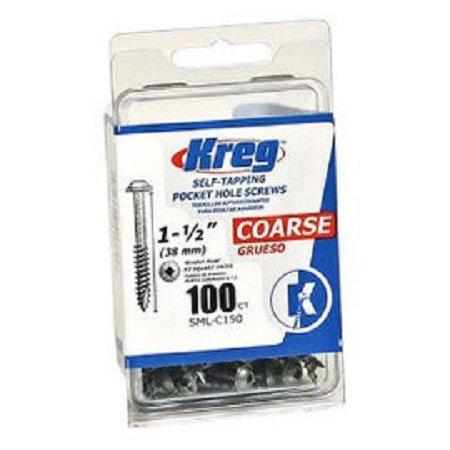 Kreg 1-1/2 100CT Pocket Hole Screws