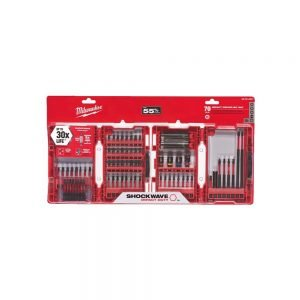Milwaukee 70-Piece Shockwave Impact Bit Set