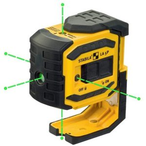 Stabila LA-5P Green Beam 5 Point Laser