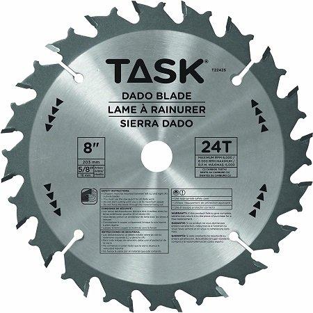 Task 8″ DADO Set