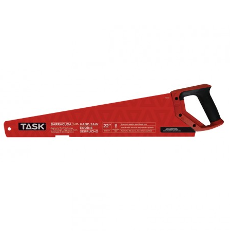 Task 22″ Barracuda Handsaw with Rubber Grip