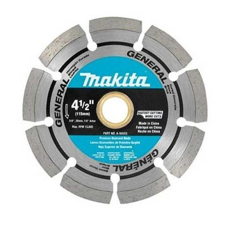 Makita 4-1/2″ Segmented General Purpose Diamond Blade