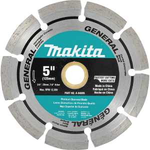 Makita 5″ Segmented General Purpose Diamond Blade