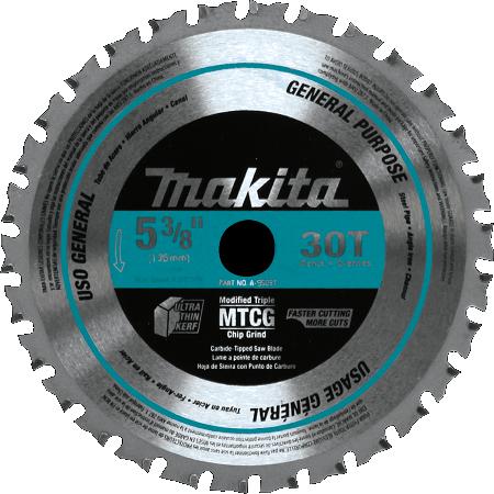 Makita 5-3/8″ x 30T Metal Cutting Saw Blade