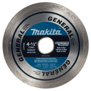 Makita 4-1/2″ Continuous General Purpose Diamond Blade