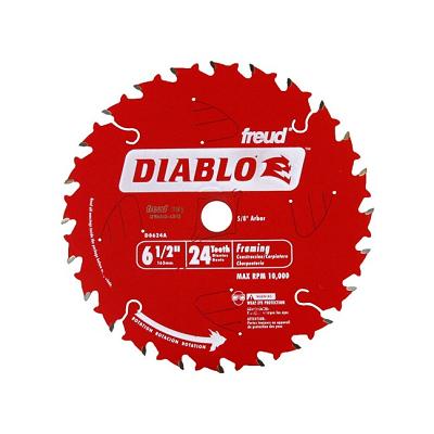 DIABLO 6-1/2″ x 24T Tracking Point Framing Saw Blade