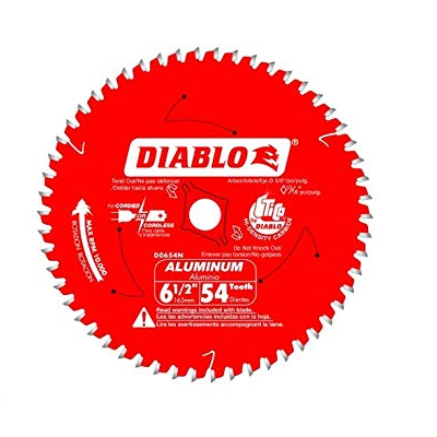 DIABLO 6-1/2″ x 54T Non-Ferrous Saw Blade