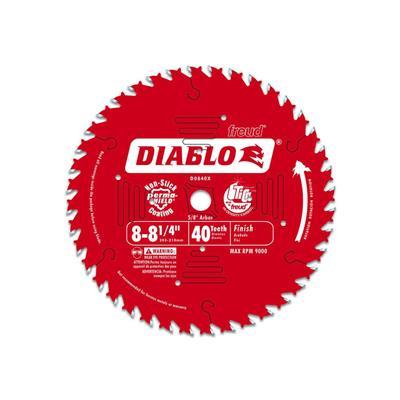 DIABLO 8-1/4″ x 40T Finishing Saw Blade