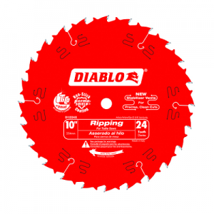 DIABLO 10″ x 24T Ripping Saw Blade