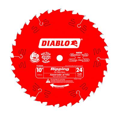 DIABLO 10″ x 24T Ripping Saw Blade
