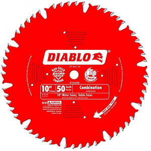 DIABLO 10″ x 50T Combination Saw Blade