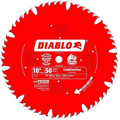 DIABLO 10″ x 50T Combination Saw Blade