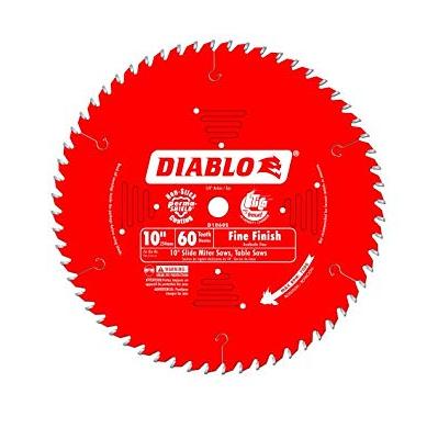 DIABLO 10″ x 60T Fine Finish Slide Miter Saw Blade