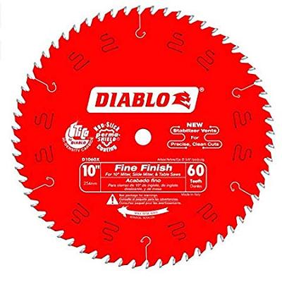 DIABLO 10″ x 60T Fine Finish  Saw Blade
