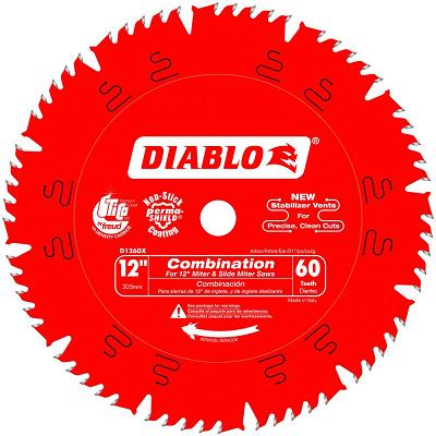 DIABLO 12″ x 60T Combination Saw Blade