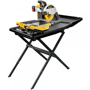 DeWalt 10″ Wet Tile Saw with Stand