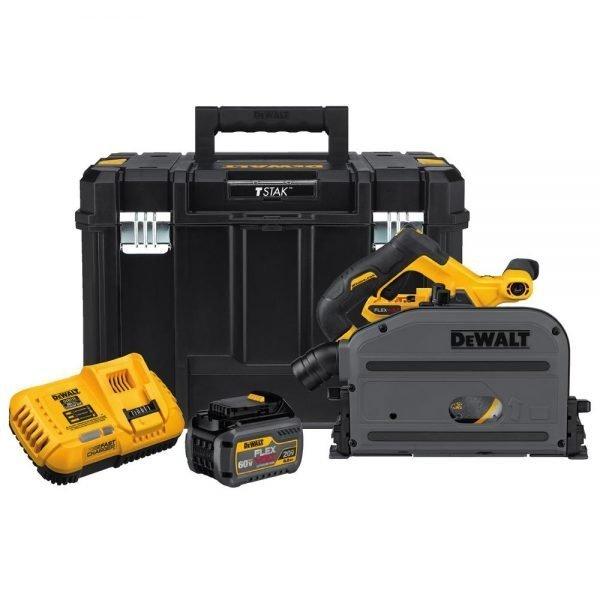 DeWalt 60V FLEXVOLT 6-1/2″ Tracksaw kit