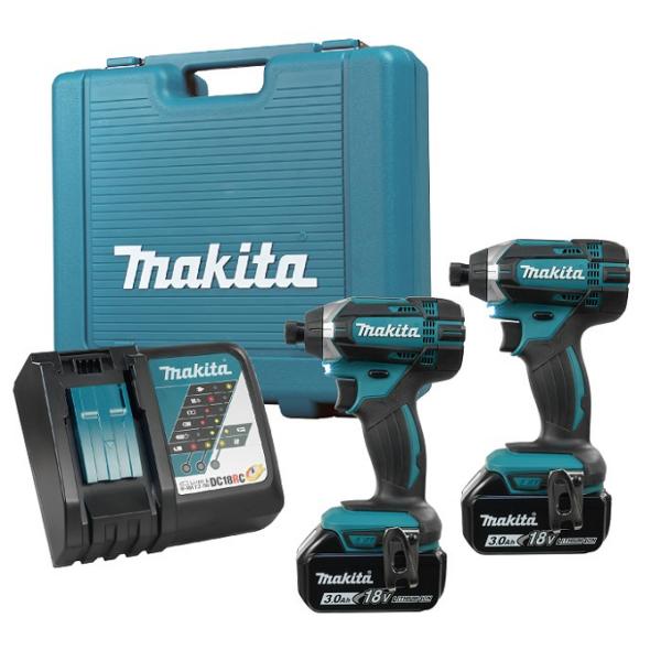 Makita 18V Impact Driver Twin Pack