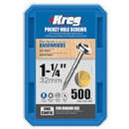 Kreg 1-1/4″ 500CT Pocket Hole Screws