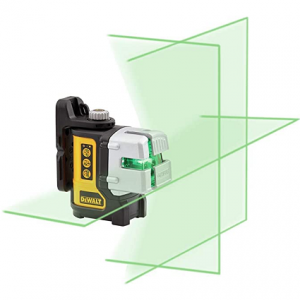 DeWalt 3 Beam Green Cross Laser