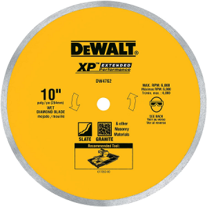 DeWalt 10″ Diamond Blade