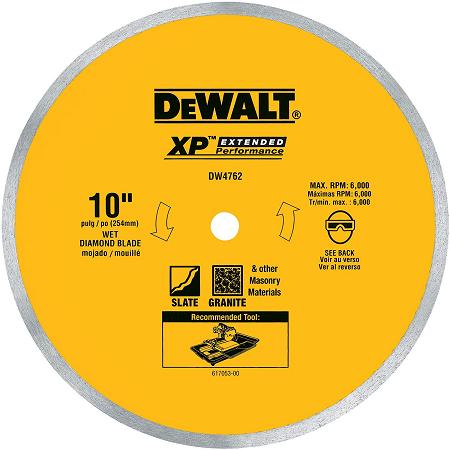 DeWalt 10″ Diamond Blade