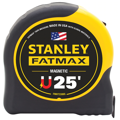 Stanley Fat Max 25′ Magnetic Tape Measure