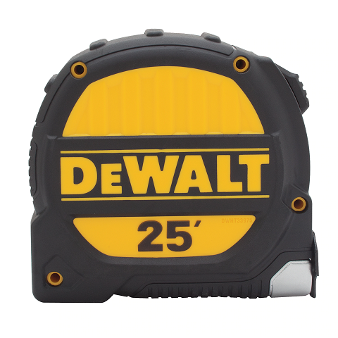 DeWalt 25′ Premium Tape Measure