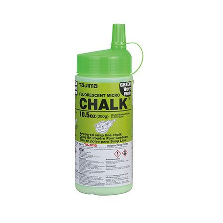 Tajima 10.5Oz Florescent Green Snap Line Chalk