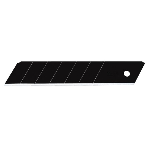 OLFA 18mm Heavy Duty Ultra Sharp Black Snap Off Blade 10 Pack