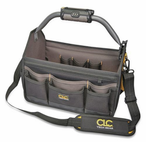 CLC Lighted Handle 18″ Open Top Tool Bag