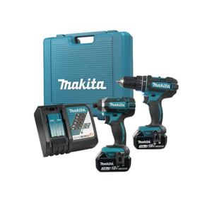 Makita 18V Hammer Drill/Impact Driver Combo Kit
