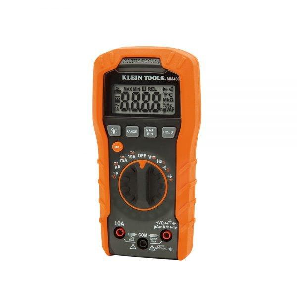 KLEIN TOOLS Digital Multimeter, Auto-Ranging, 600V
